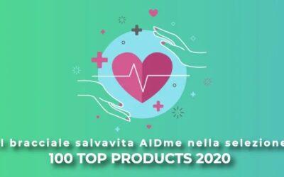 Il bracciale salvavita AIDme nella selezione 100 Top Products 2020