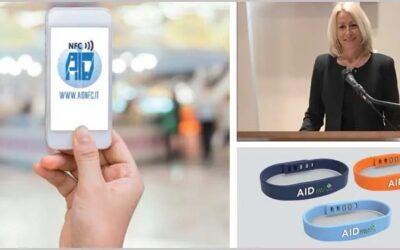 AIDme, il bracciale salvavita che si legge con lo smartphone