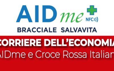 Corriere dell'Economia: Croce Rossa Italiana e il bracciale salvavita AIDme