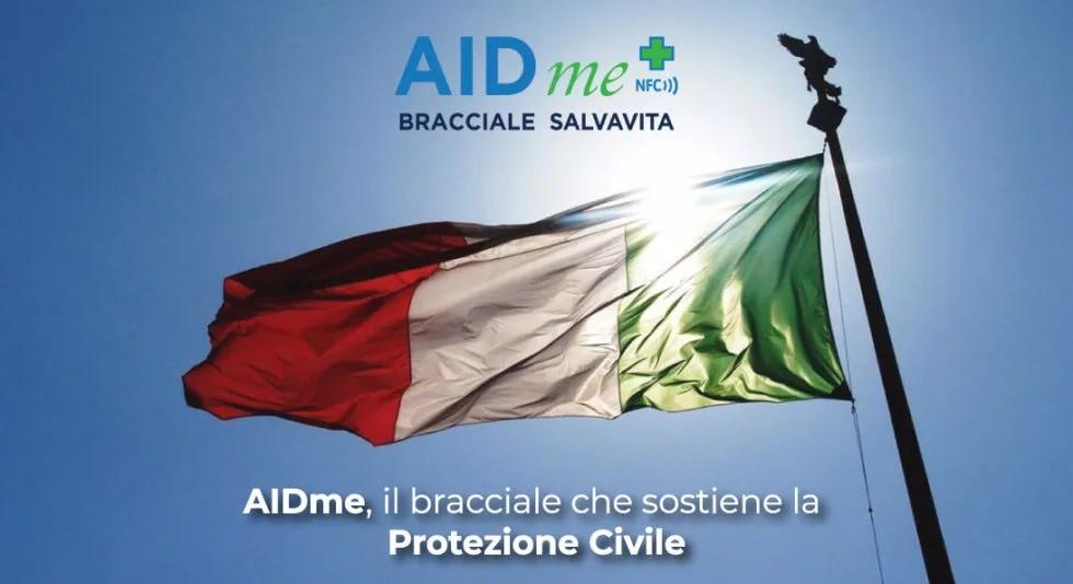 ANSA: AIDme, il bracciale che sostiene la Protezione Civile