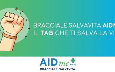 Bracciale Salvavita AIDme: il TAG che ti salva la vita