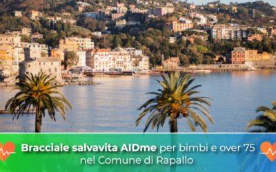 Bracciale salvavita AIDme per bimbi e over 75 nel Comune di Rapallo