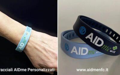 Il bracciale salvavita AIDme in aiuto ai diabetici