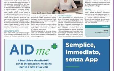 La Repubblica Centro Italia parla di noi. Ecco l'articolo dedicato al bracciale AIDme: