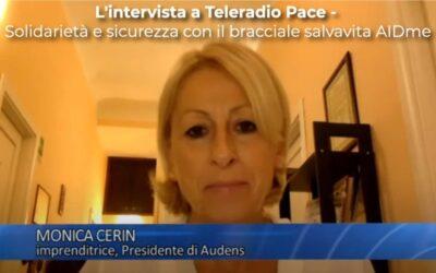 L'intervista a Teleradio Pace – Solidarietà e sicurezza con il bracciale salvavita AIDme