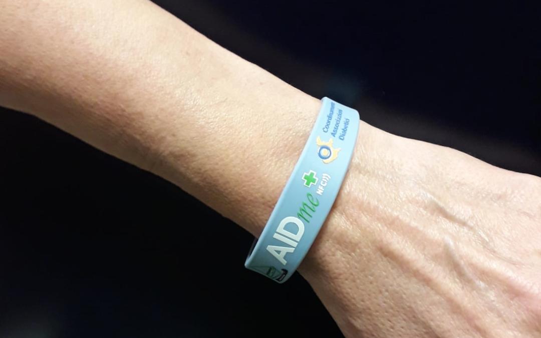 """AIDme al fianco dell'Associazione Diabetici di Chioggia con il progetto """"Salviamo la vita con un braccialetto"""""""