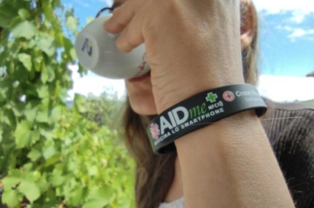 """Il bracciale salvavita AIDme su """"La Voce di Alba"""""""